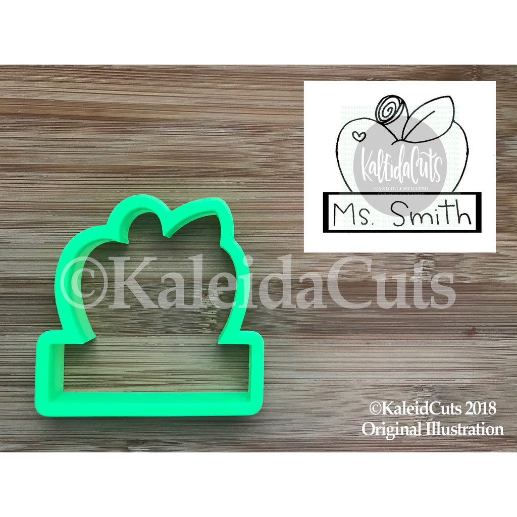 Apple Plaque Cookie Cutter
