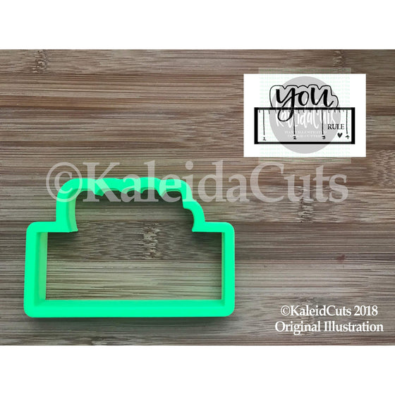 You Rule Plaque Cookie Cutter
