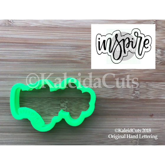 Inspire Lettering Cookie Cutter
