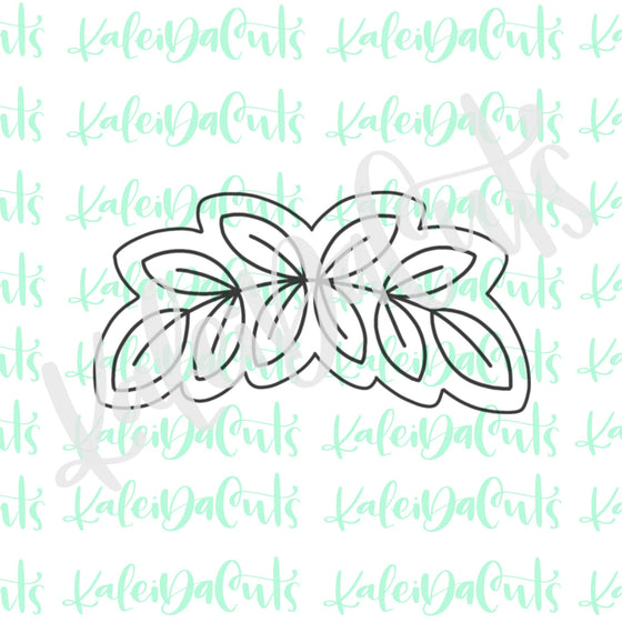 Leaf Banner 2 Cookie Cutter