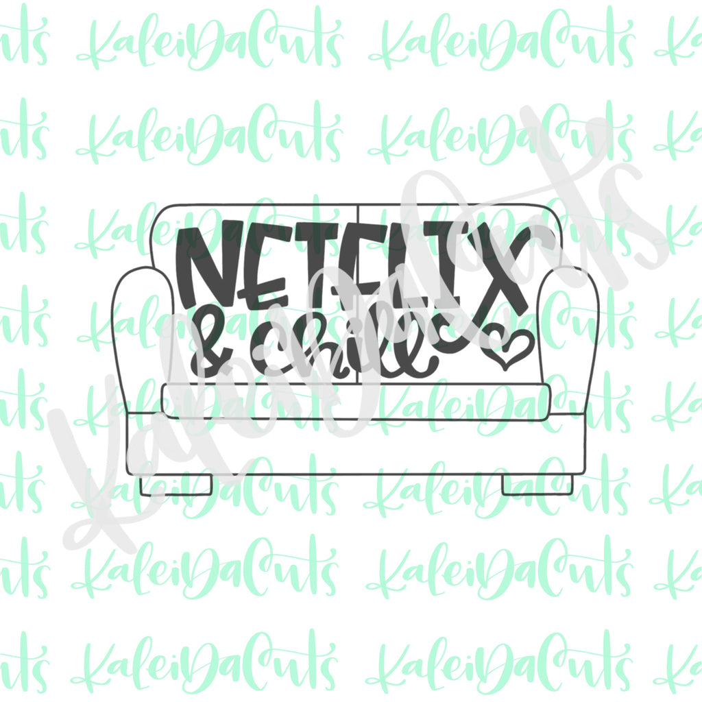 Netflix and Chill Cookie Cutter