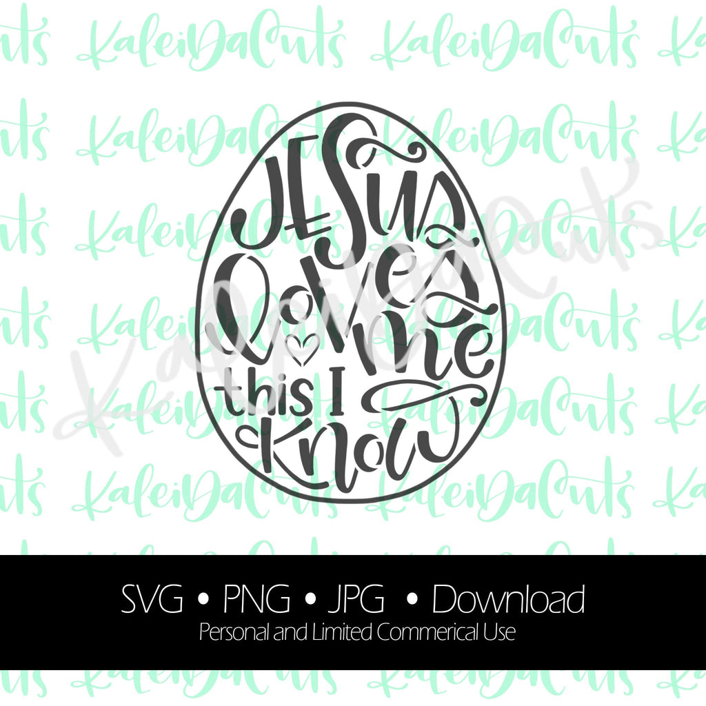 Jesus Loves Me This I Know Digital Download.
