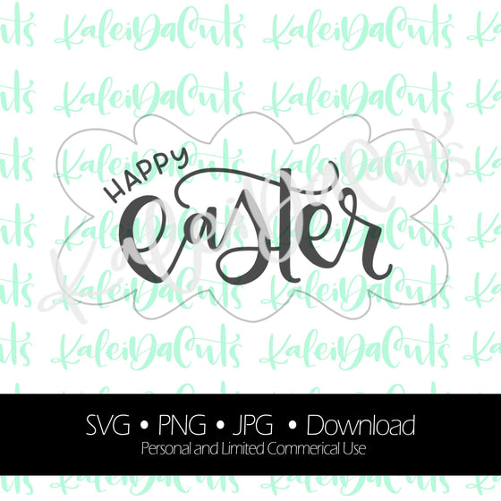 "Happy Easter ""nancy"" Digital Download."