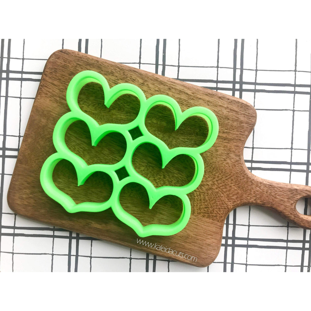 Multi Heart 3 Cookie Cutter