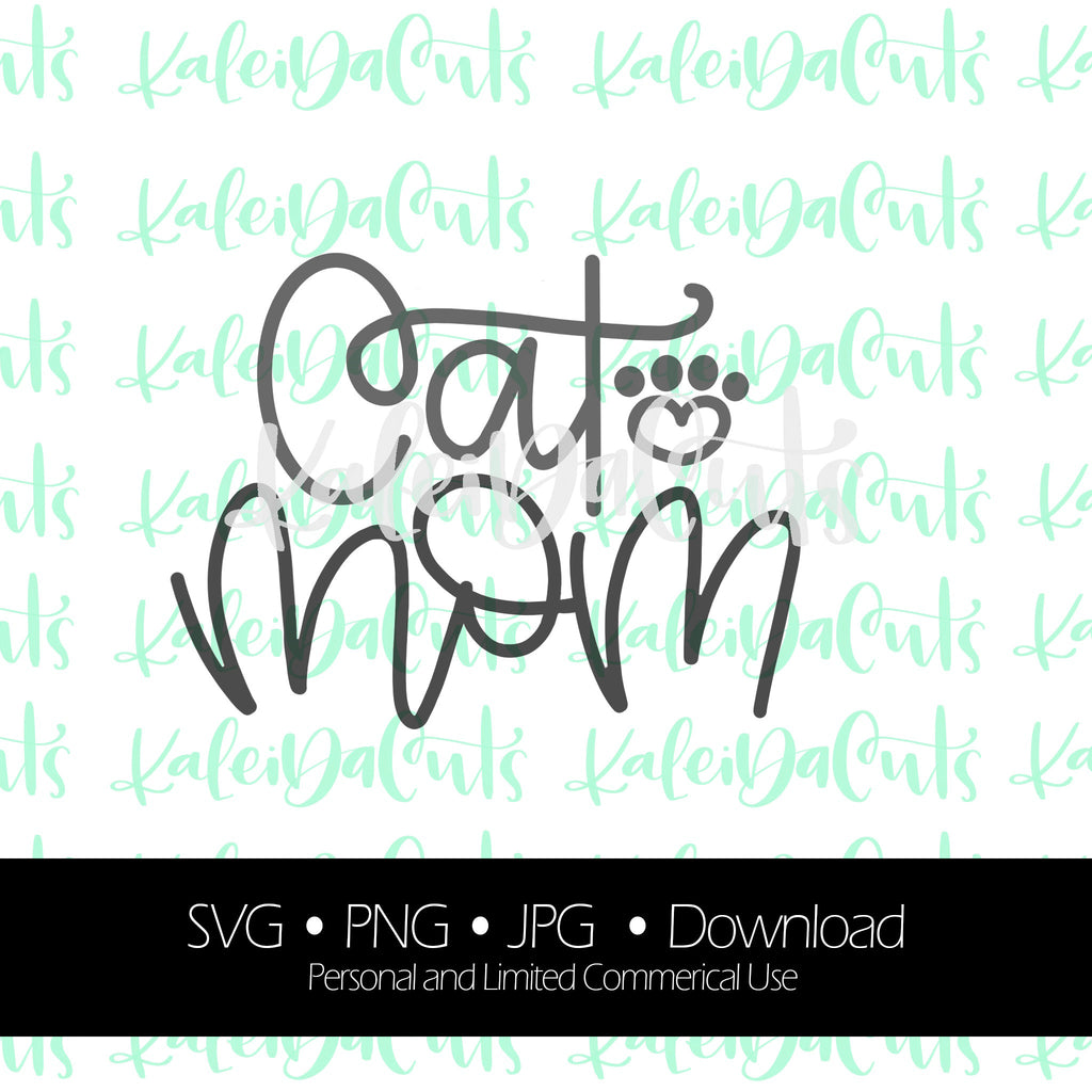Cat Mom Digital Download.