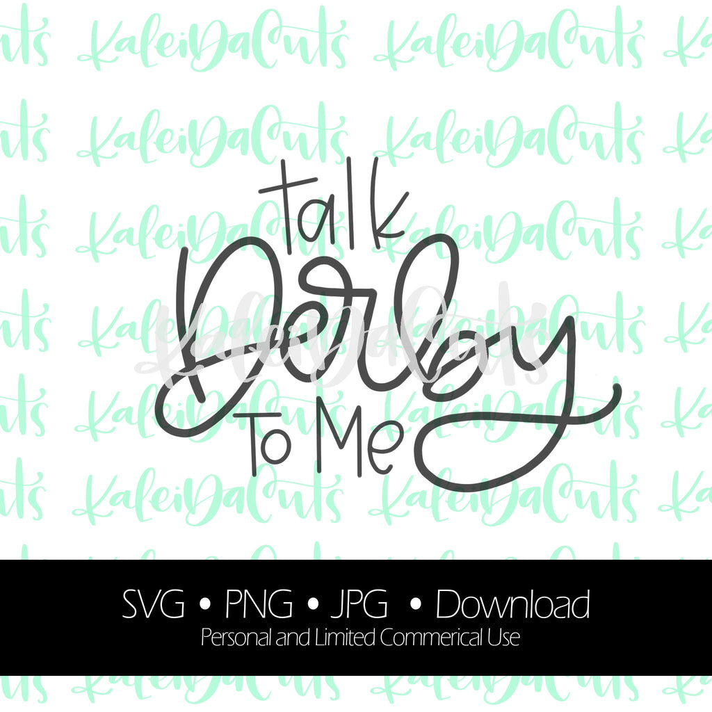 Talk Derby To Me Digital Download.