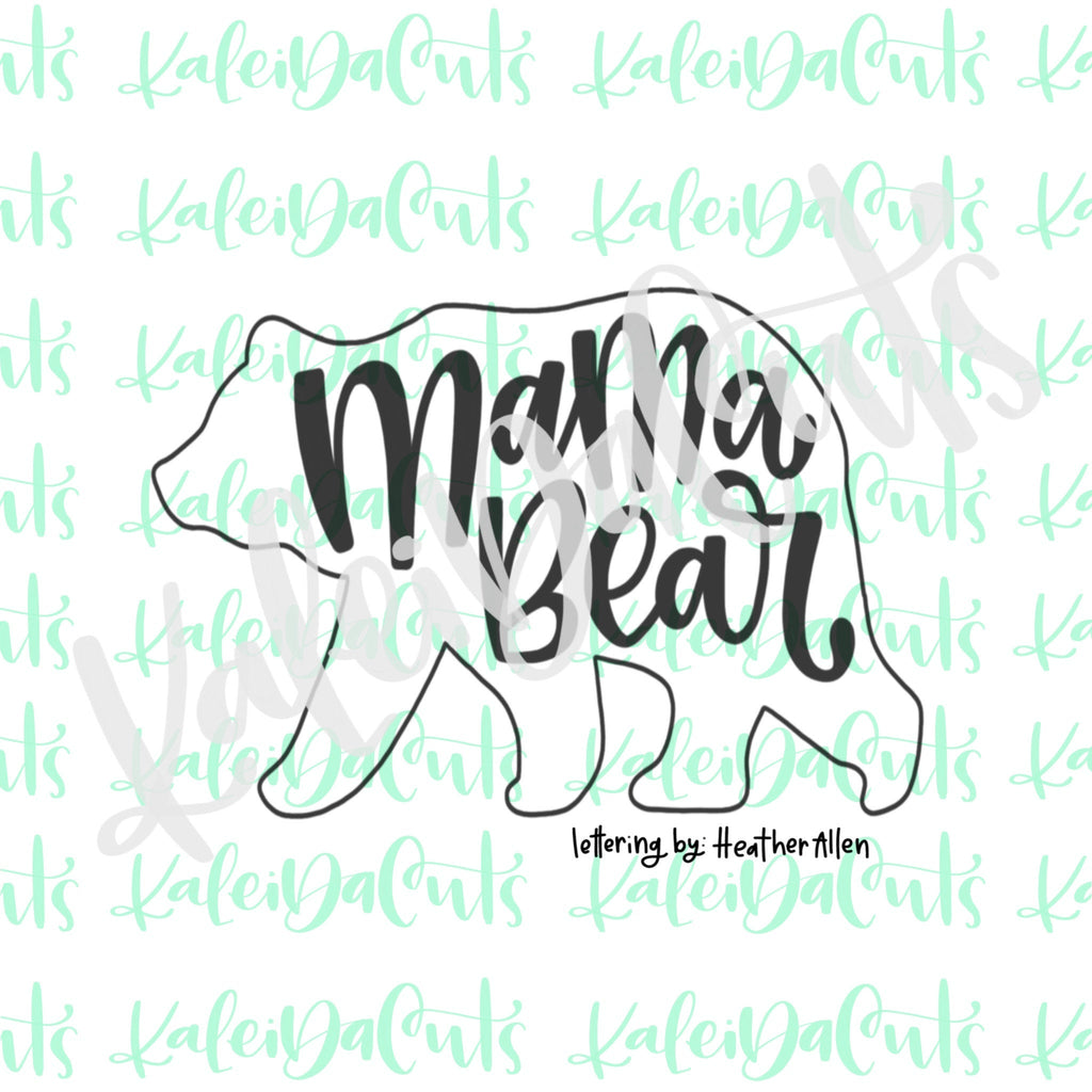 Mama Bear Cookie Cutter