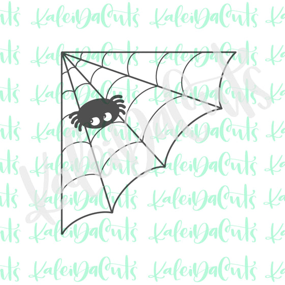 Corner Spiderweb Cookie Cutter