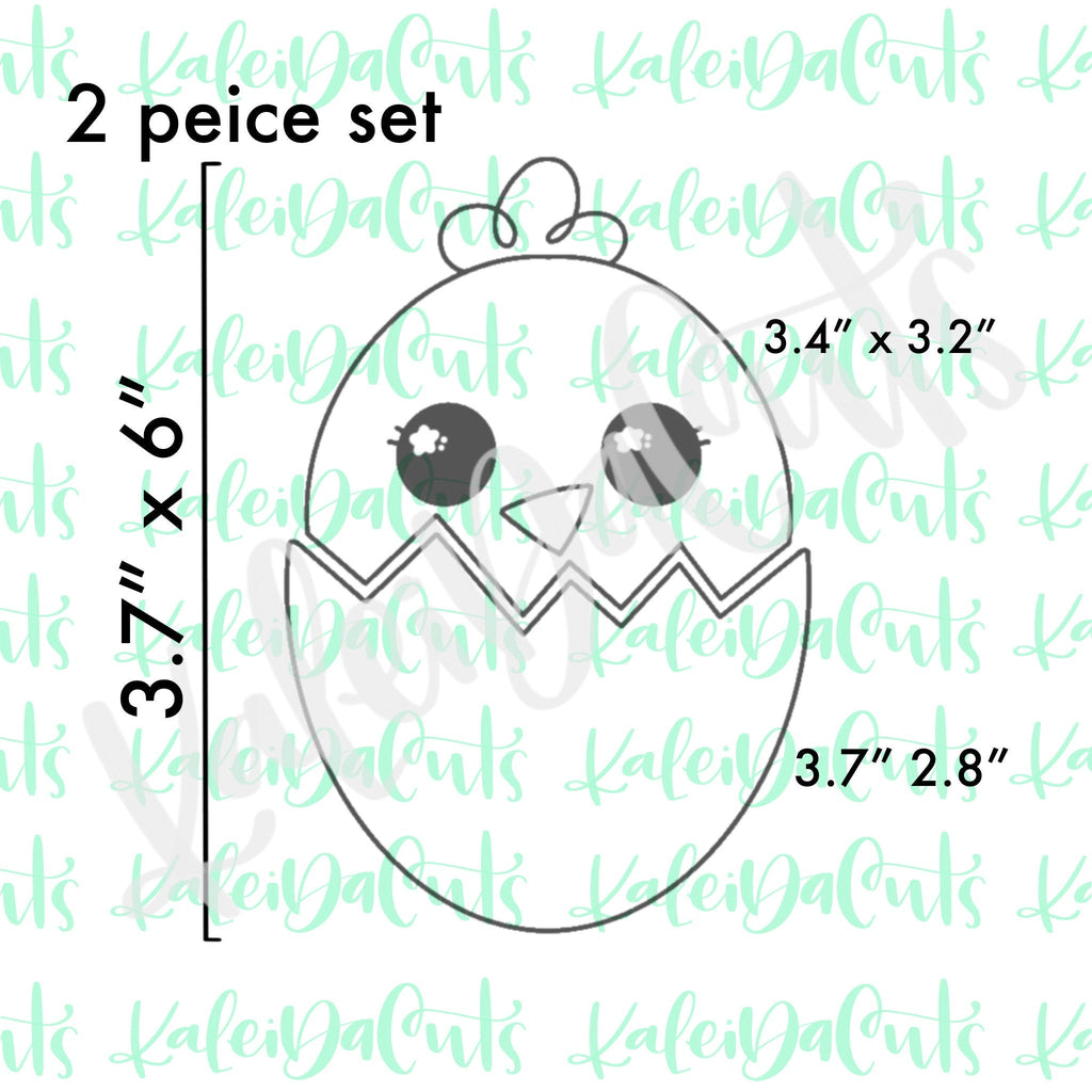 Hatched Chick Set Cookie Cutter