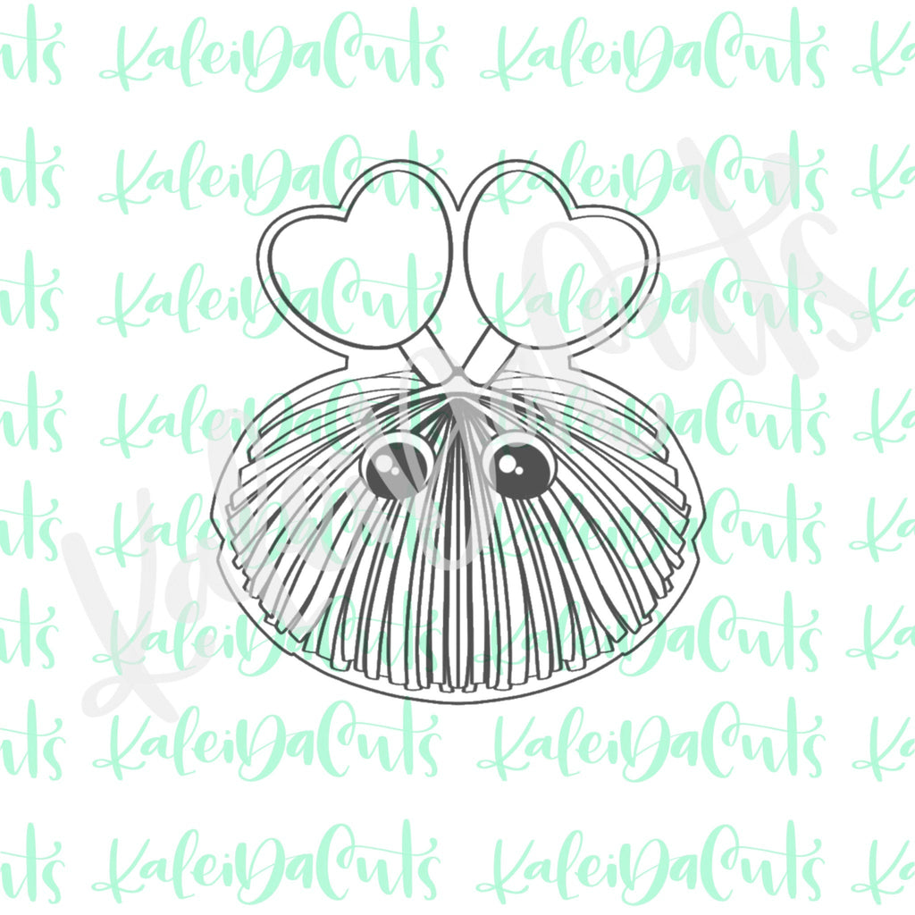 Love Bug Poof Cookie Cutter