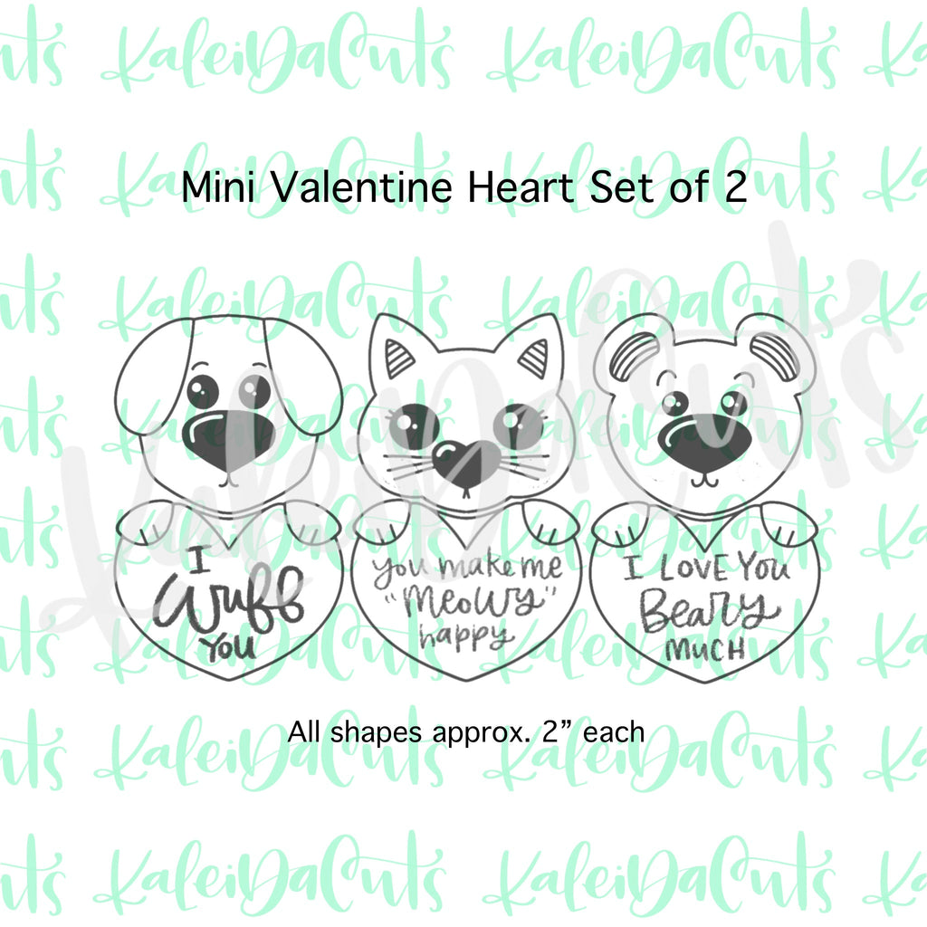MINI Valentine Heart Set - Build Your Own Character