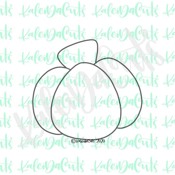 Fall Platter Pumpkin Cookie Cutter