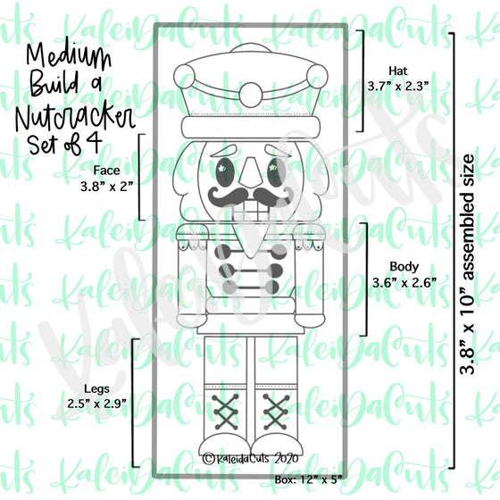 Build a Nutcracker Set - 4 Cookie Cutters