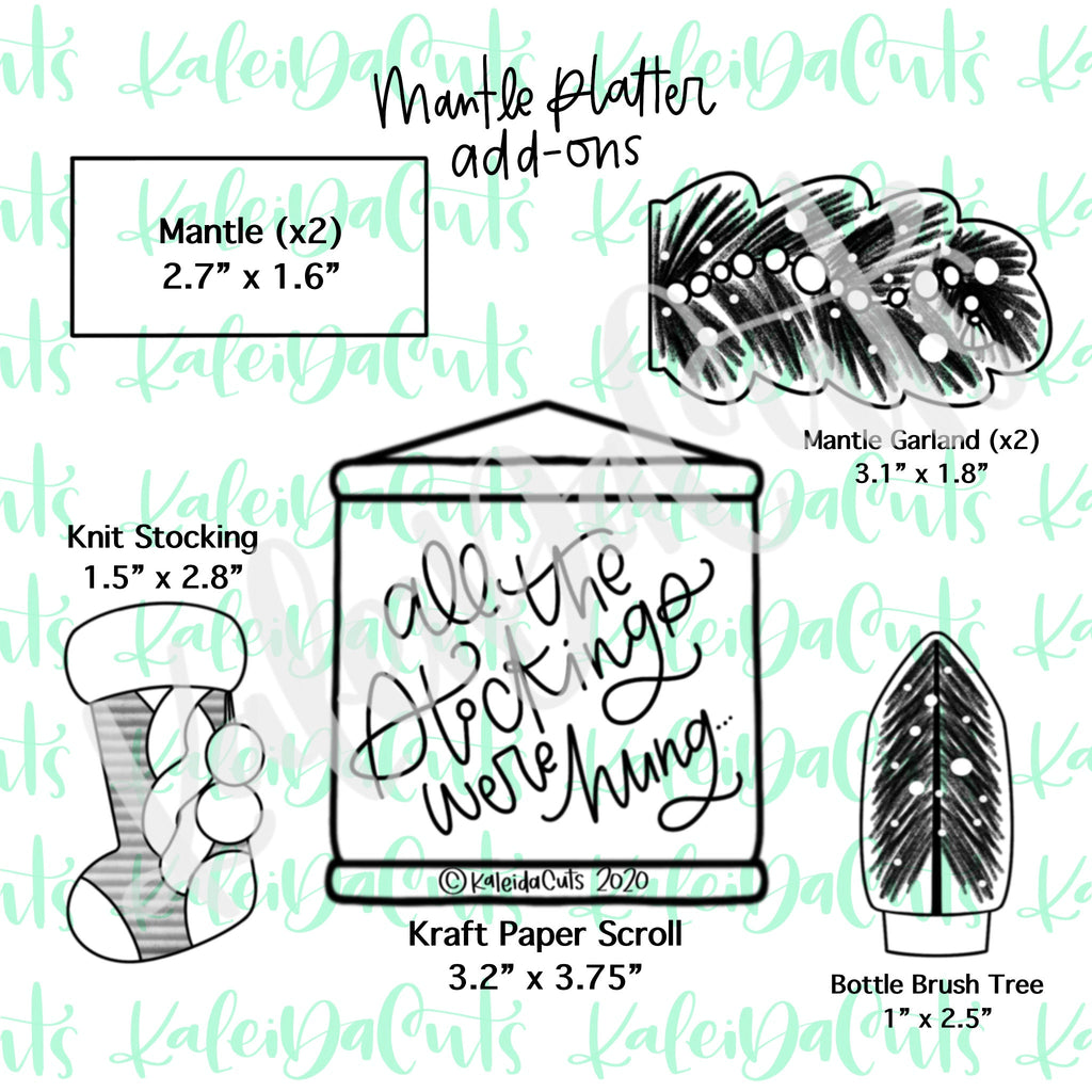 Mantle Platter Add on Cookie Cutters
