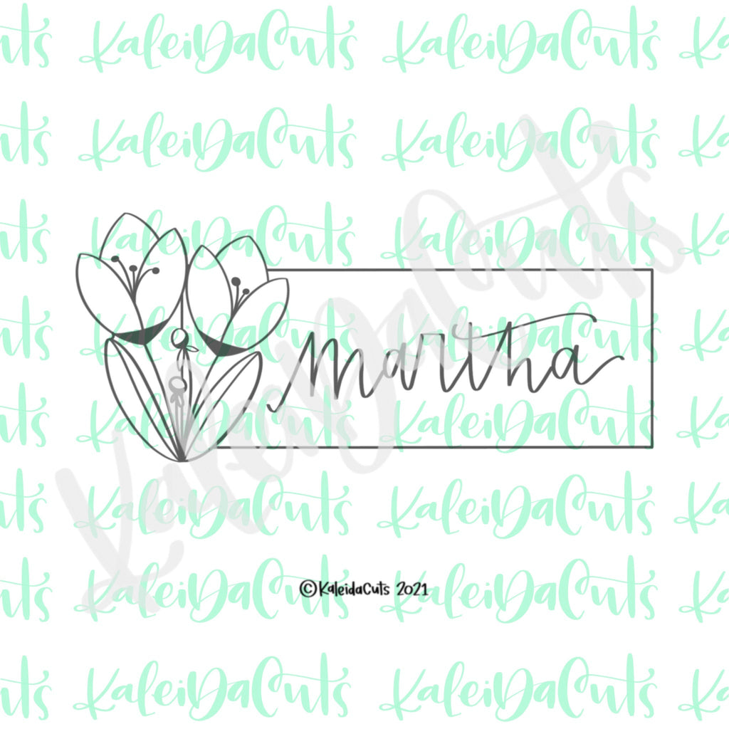 Martha Plaque Cookie Cutter