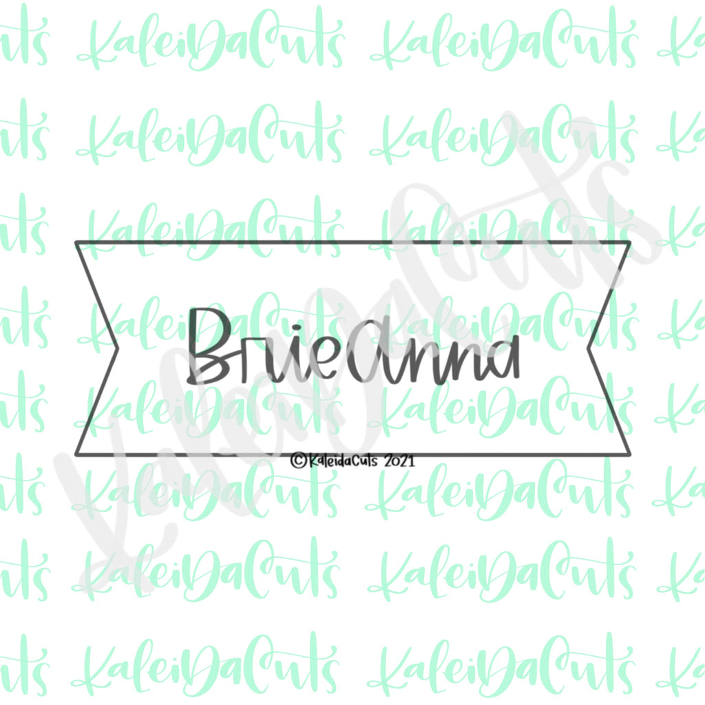 BrieAnna Plaque Cookie Cutter