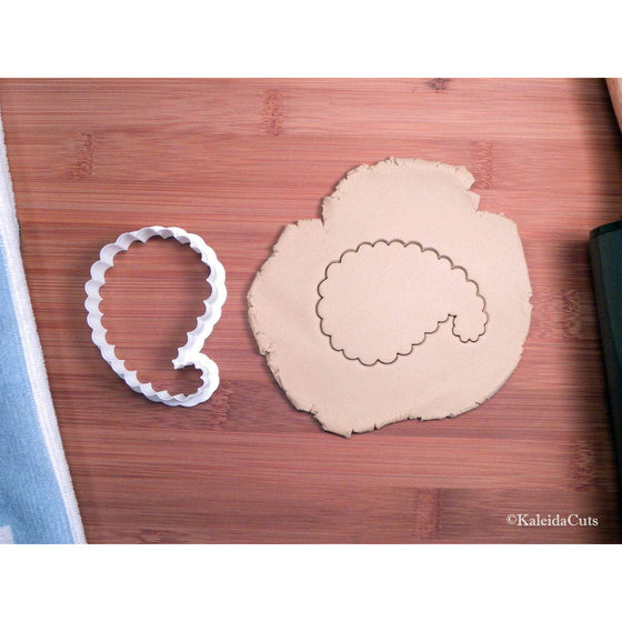 Paisley Shape Cookie Cutter