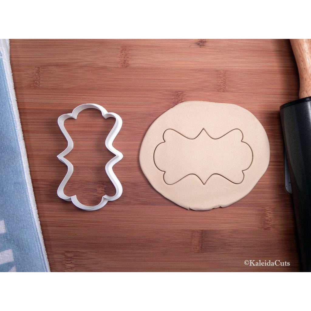 Fancy Plaque (Narrow) Cookie Cutter