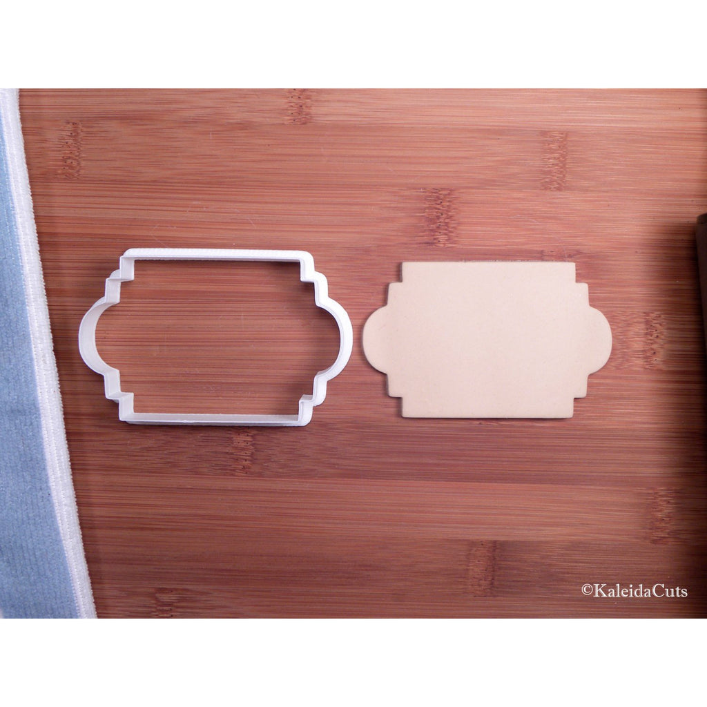 Vintage Plaque Cookie Cutter
