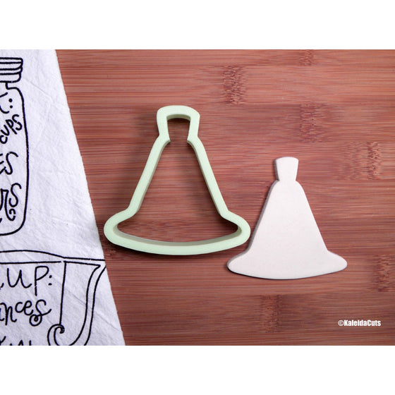 Trumpet Gown Cookie Cutter