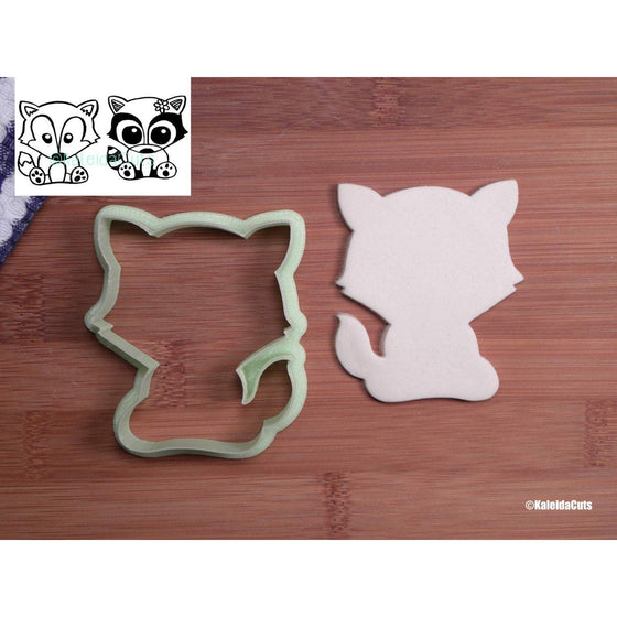 Sitting Fox Cookie Cutter