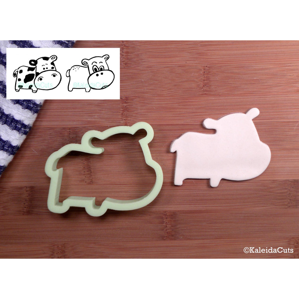 Hippo Cookie Cutter