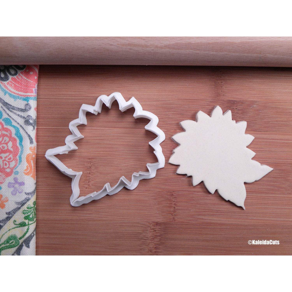 Sunflower (with leaves) Cookie Cutter