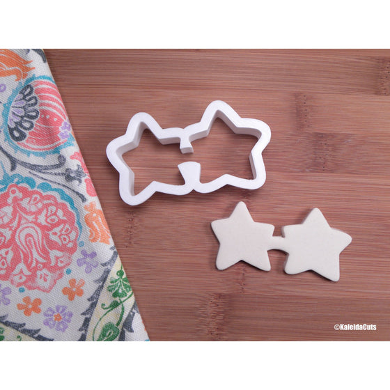 Star Sunglasses Cookie Cutter
