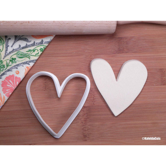 Skinny Heart Cookie Cutter