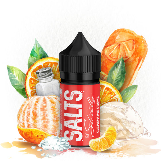 Clementine Creme Salts Ejuice Eliquid