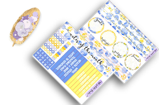 August Collection - Lemonade Note Page kit! (NEW EC)