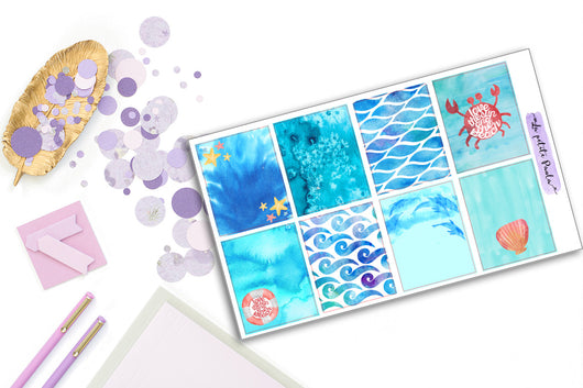 8 Sea lover Backgrounds - S007