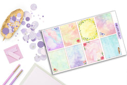 8 Fantasy Pastel Backgrounds - S008