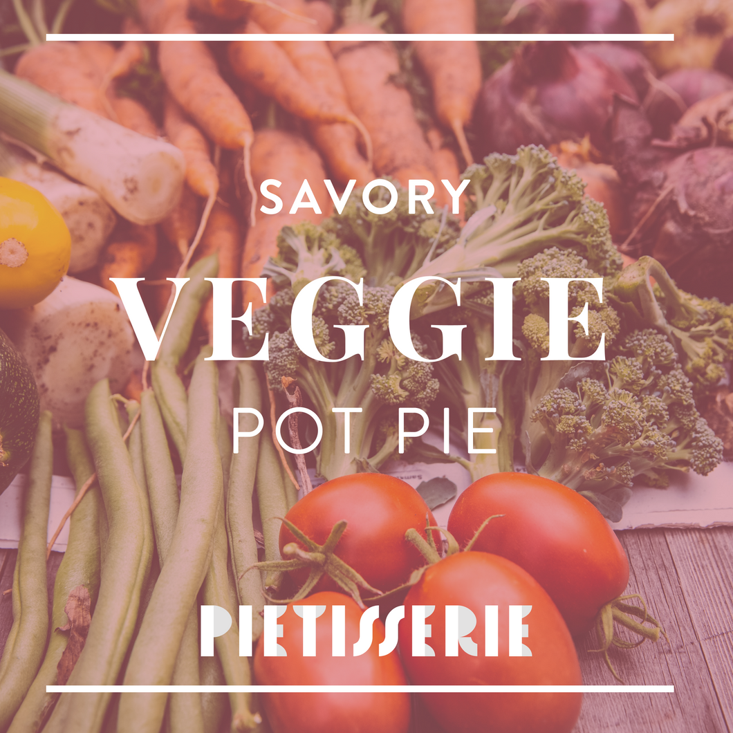 Savory Vegetable Pie.