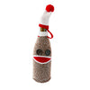Going Bananas Sock Monkey Wine Bottle Cover and Banana Wine Stopper