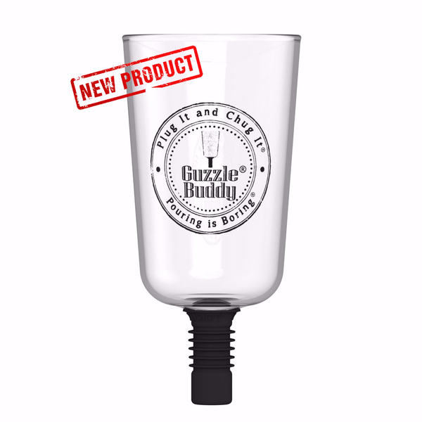 Guzzle Buddy® Beer Bottle - Borosilicate Glass