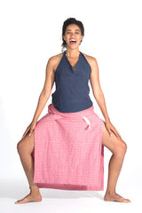Travel Fun Pre During Post Natal Office-Friendly Wabi-sabi Wrap Skirt American Made LA Made no more than 100 per fabric grace a toi dress dressdressdress.com