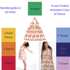 Backless grâce à toi dress Chakra Activation Option