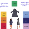 The grâce à toi dress After-Workout Throw Chakra Activation Option