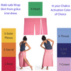 Wabi-sabi Wrap Skirt Chakra Activation Option