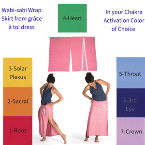 Wabi-sabi Wrap in Chakra Activation Option