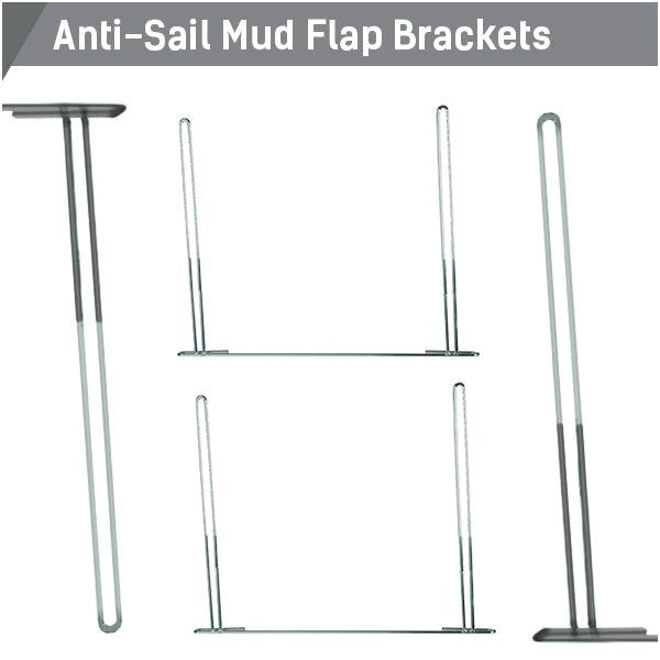Anti-Sail Mud Flap Brackets