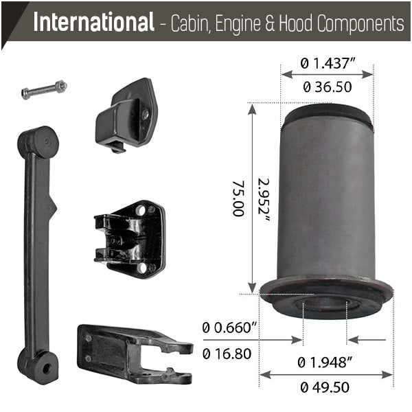 International Cabin, Engine & Hood Components