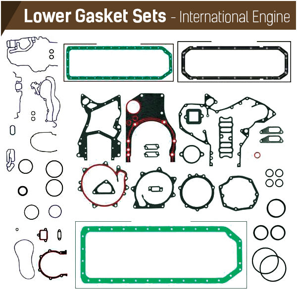 International Lower Gasket Sets