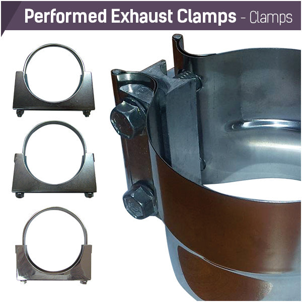 Performed Exhaust Clamps