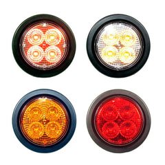 2.5 inch Round Marker Light 4 Led