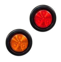 2 inch Round Marker Light 4 Led Sealed