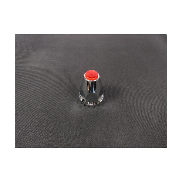 33Mm Top Reflector Threaded Nut Cover With Flange