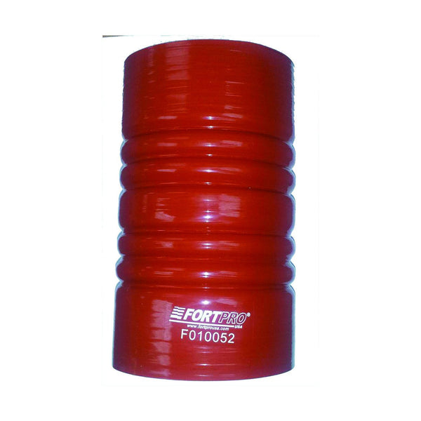 "4"" I.D Red Silicone Hose - 7 1/8"" Lg"