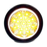 "4"" Round 17 Led Chromed Reflector Sealed"